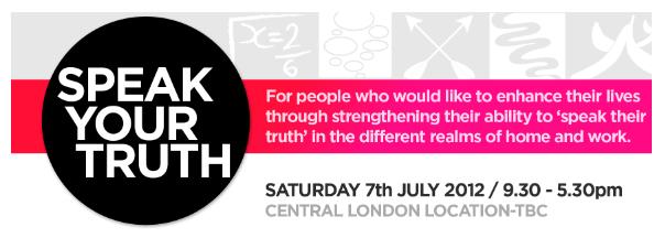 speak your truth workshop logo