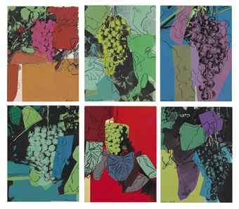 andy warhol's Grapes D.D.