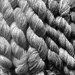 shades of grey wool up close