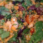 Warm Prawn and Quinoa Salad Recipe