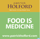 itunes logo for patrick holford food is medicine health podcast