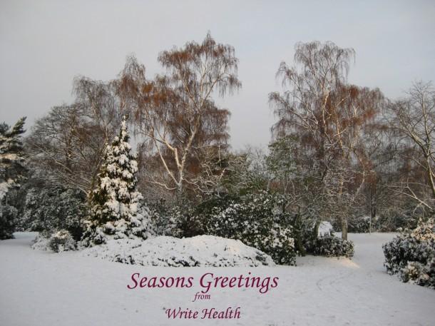 seasons greetings from write health