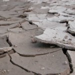 dry cracked mud like dry eczema skin