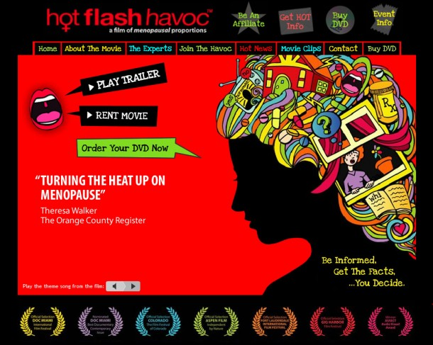 hot flash havoc - a film about menopause