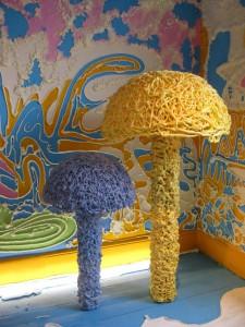 the mushroom room