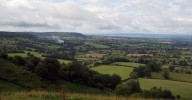 Cotswold Way View over the Severn Valley from Coaley Peak