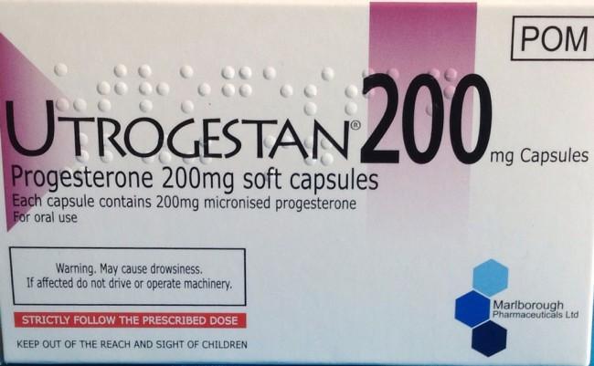 Utrogestan 200mg capsules