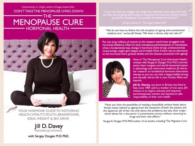 Book cover for The Menopause Cure: Hormonal Health by Jill D. Davey